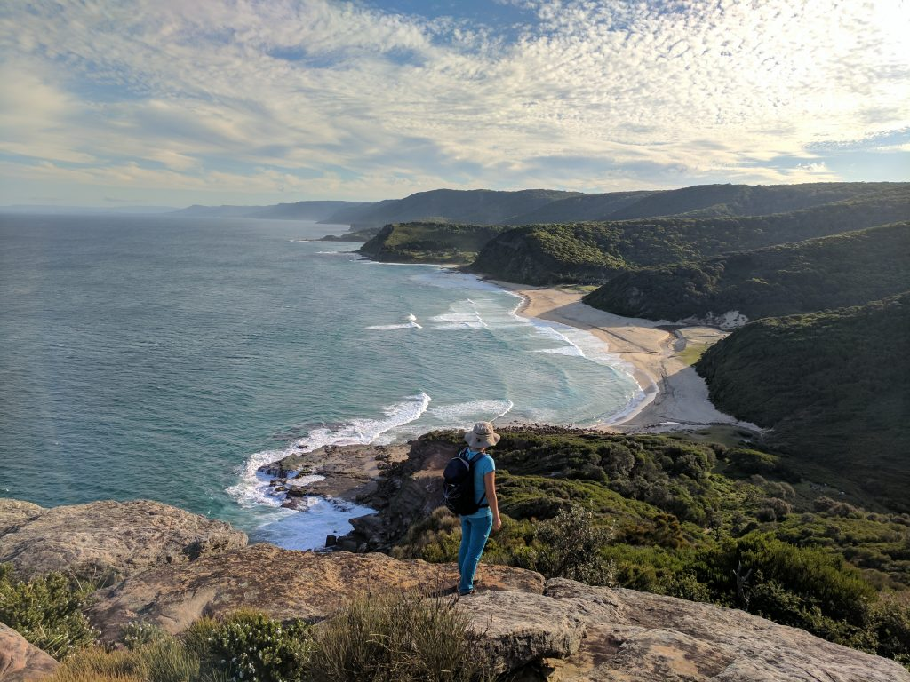 Garie Beach from Garie Head, Royal National Park, Sydney