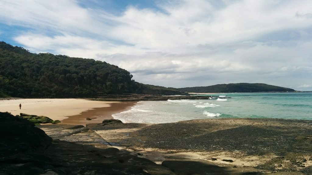 The coast off Durras Mountain, Murramarang National Park, on the South Coast of NSW