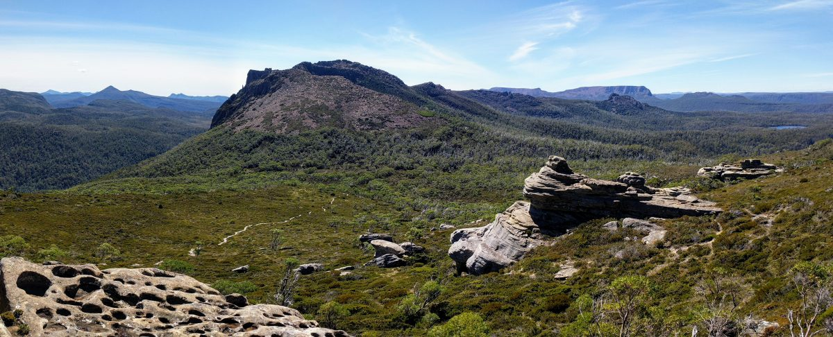 Mt Rufus Circuit, Cradle Mt-Lake St Clair NP, Tasmania