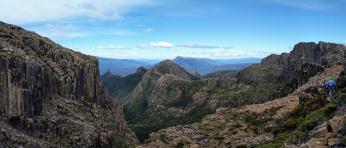 Mt Anne ascent, Southwest National Park, Tasmania