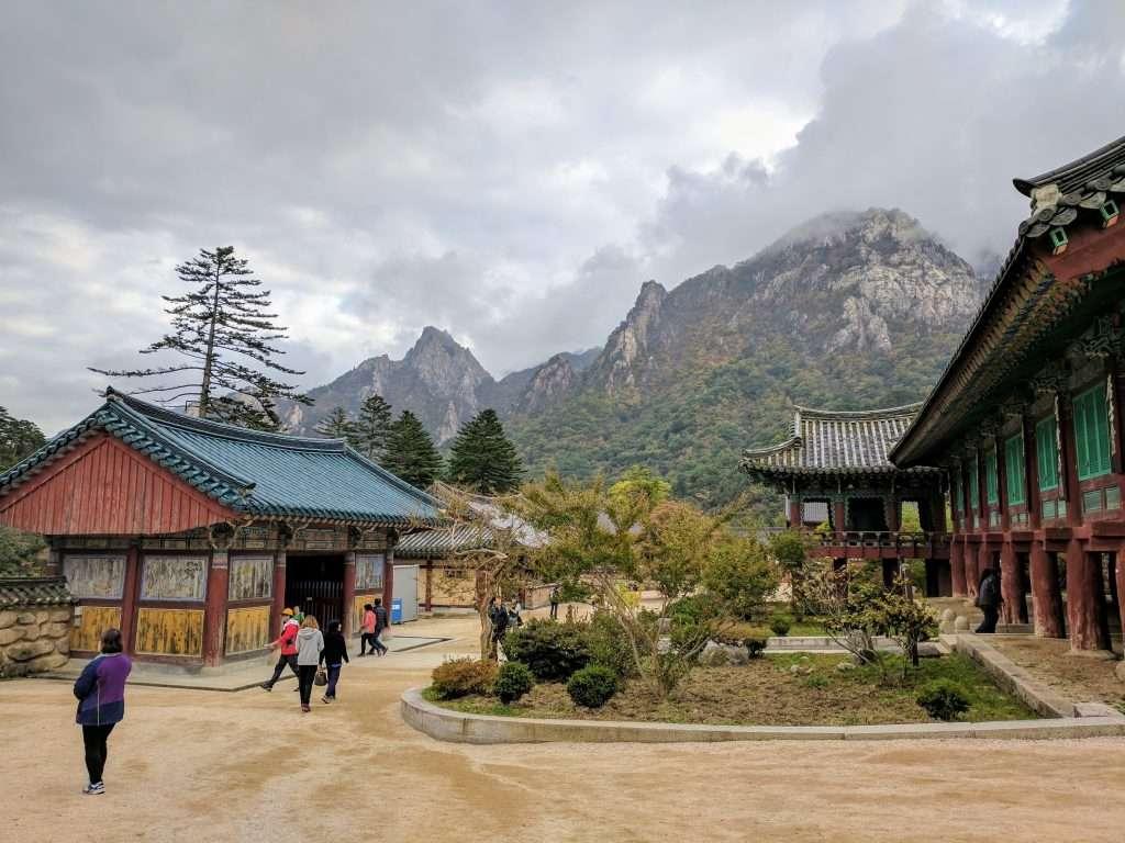 Daecheongbong ascent, Seoraksan NP