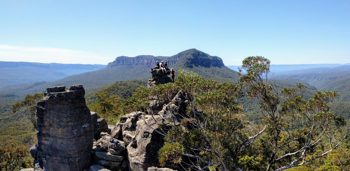Mt Solitary & Ruined Castle Track, Blue Mountains NP NSW