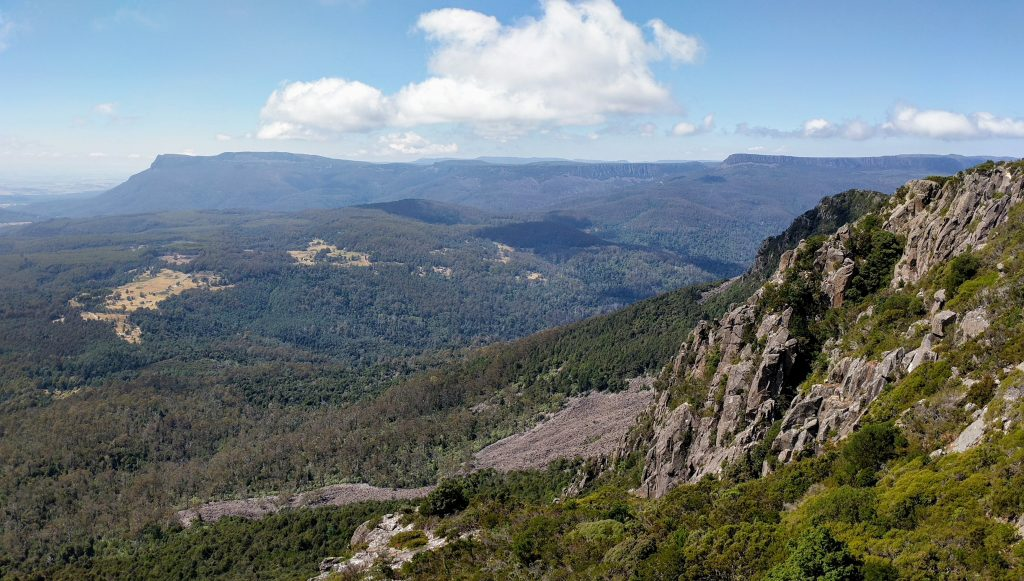 Quamby Bluff Track, Great Western Tiers