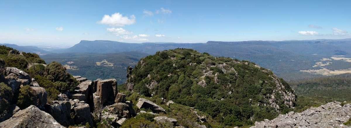 Quamby Bluff Track, Great Western Tiers, Tasmania