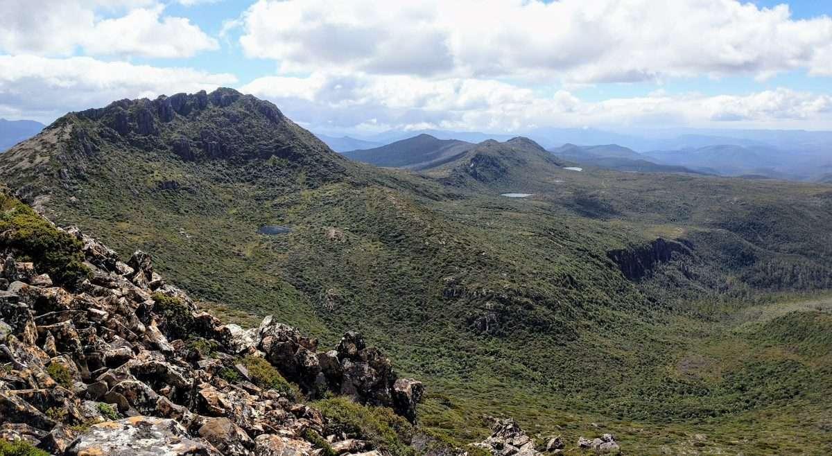 Hartz Peak & Mount Snowy Track, Hartz Mountains NP Tasmania