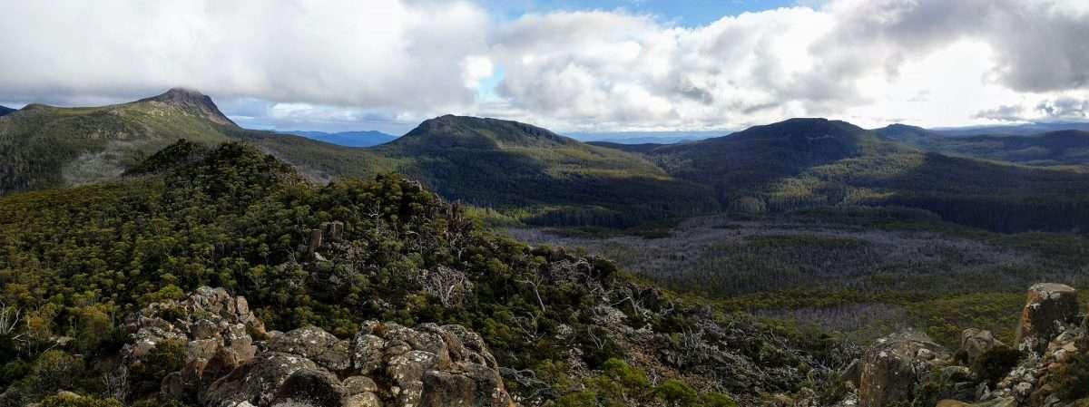 Collinsvale Peaks Track, Wellington Park, Tasmania