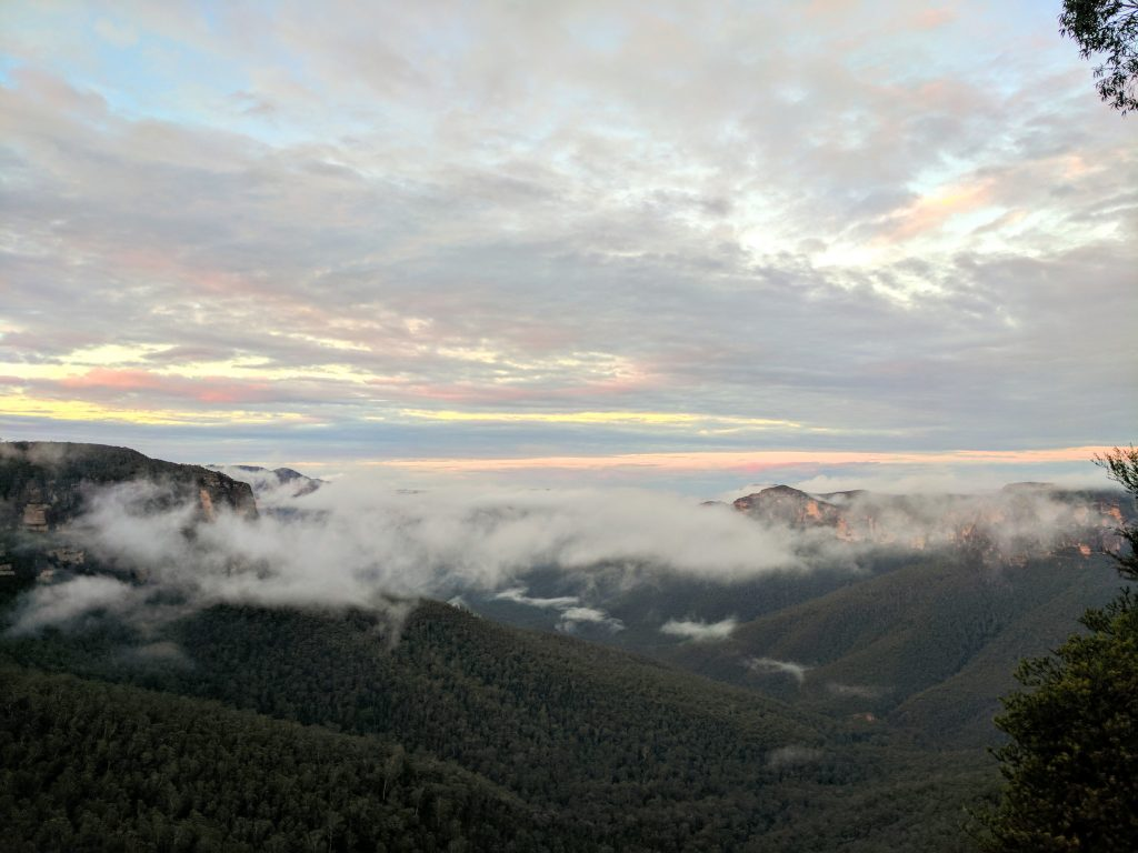 Evans Lookout/Pulpit Rock/Popes Glenn/Braeside Walk, Blue Mountains