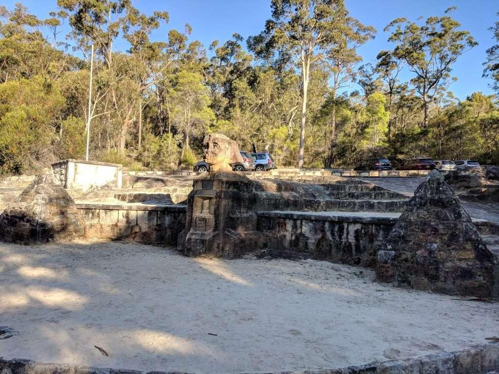 Gibberagong Sphinx Warrimoo Tracks, Ku-rin-gai Chase NP, Sydney