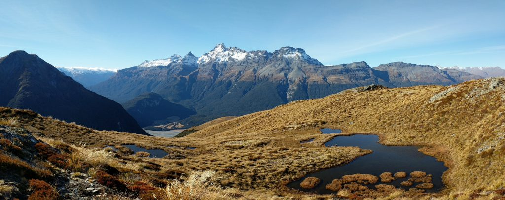 Sugarloaf Pass to Point 1290m, Mt Aspiring NP