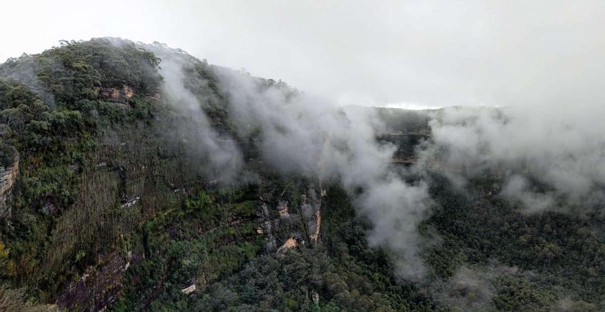 Evans Lookout/Pulpit Rock/Popes Glen/Braeside Walk, Blue Mountains NP, NSW