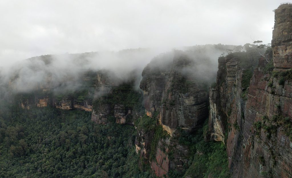 Evans Lookout/Pulpit Rock/Popes Glenn/Braeside Walk, Blue Mountains