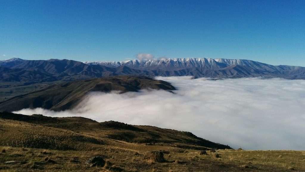 Lindis Peak Track, Central Otago