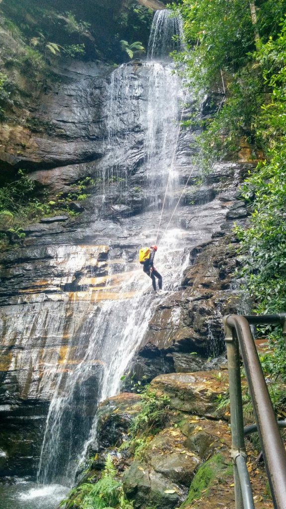 Wentworth Falls via National Pass
