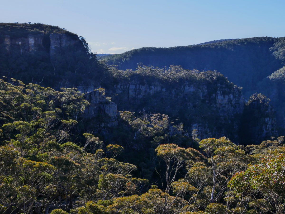 Waterfall Walk (Kalang Falls), Kanangra-Boyd NP, NSW