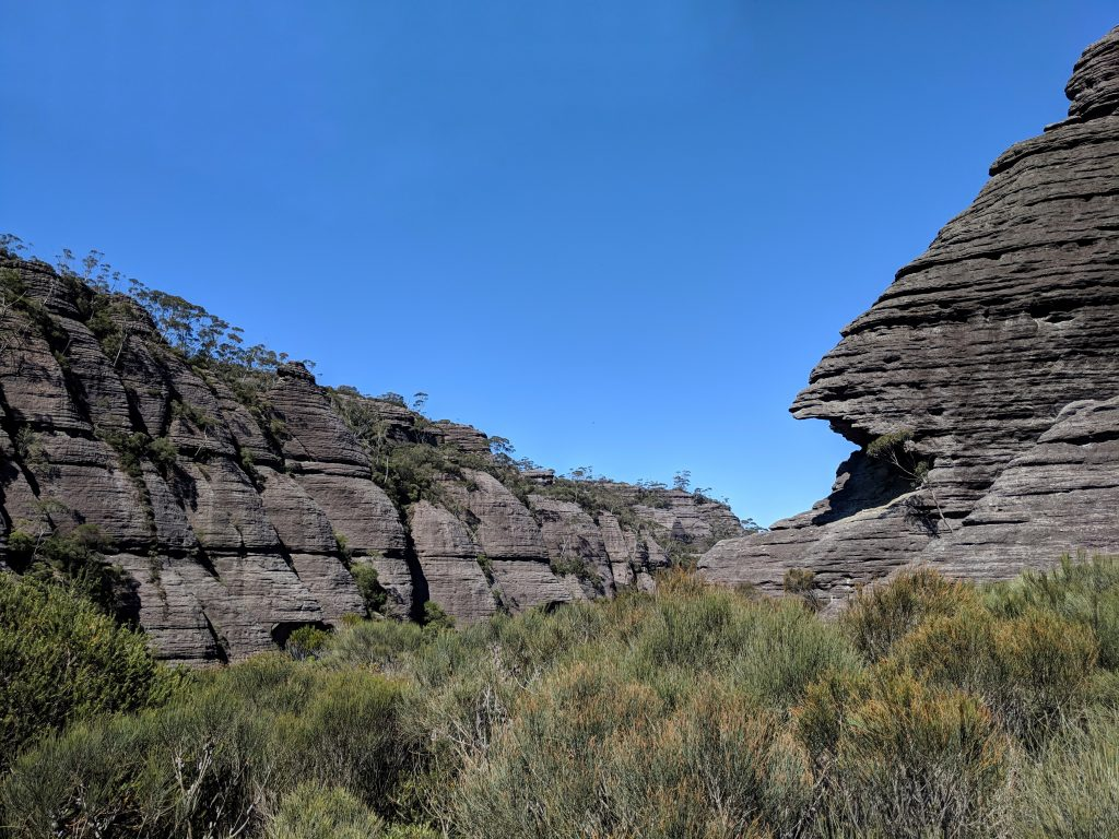 Monolith Valley to Nibelung Pass, Budawangs
