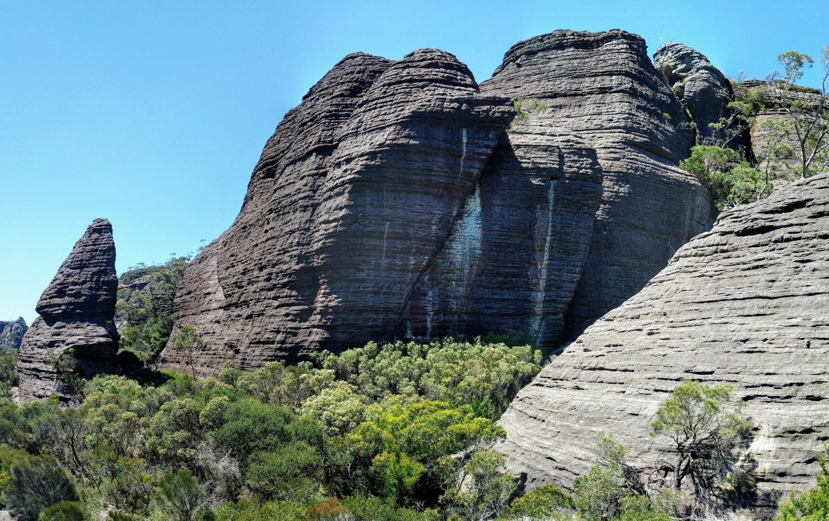 Monolith Valley to Nibelung Pass, Budawangs NSW