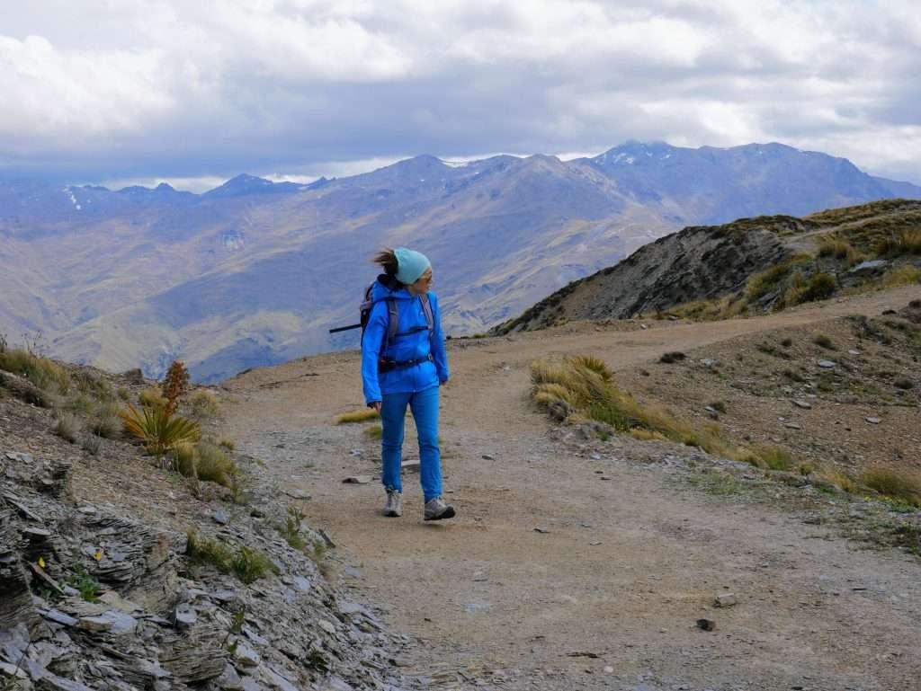 Rock Peak from Crown Saddle, Otago