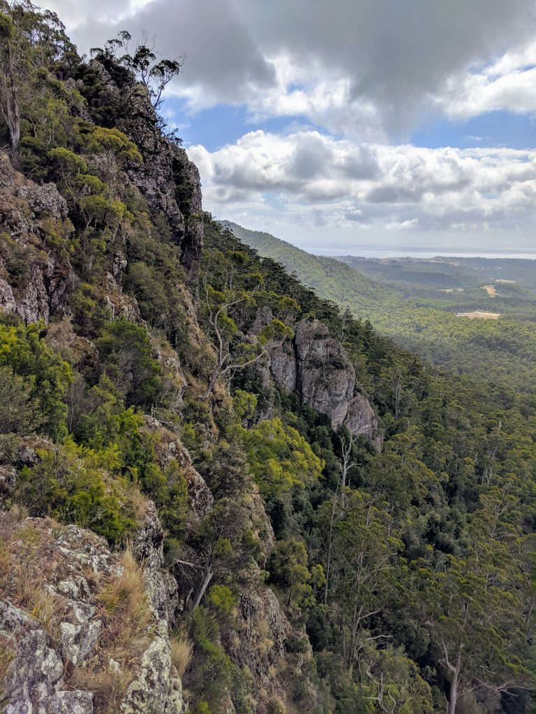 Mt Dial and the Gnomon, near Penguin, Tasmania