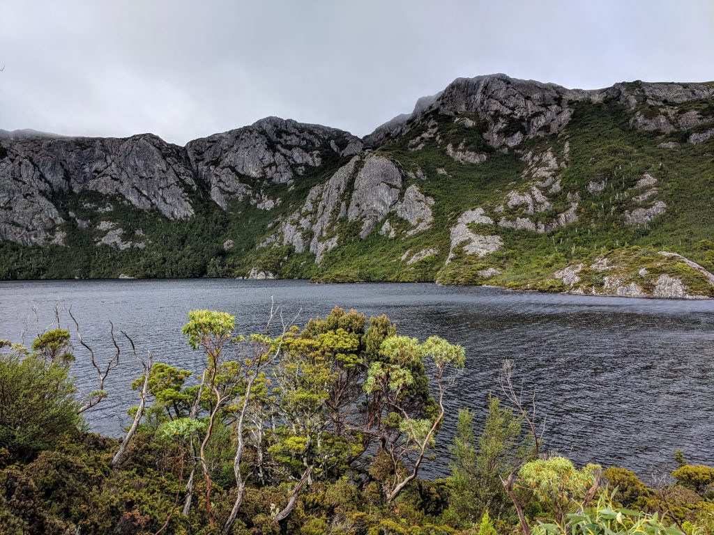 Barn Bluff ascent, Cradle Mountain-Lake St Clair National Park