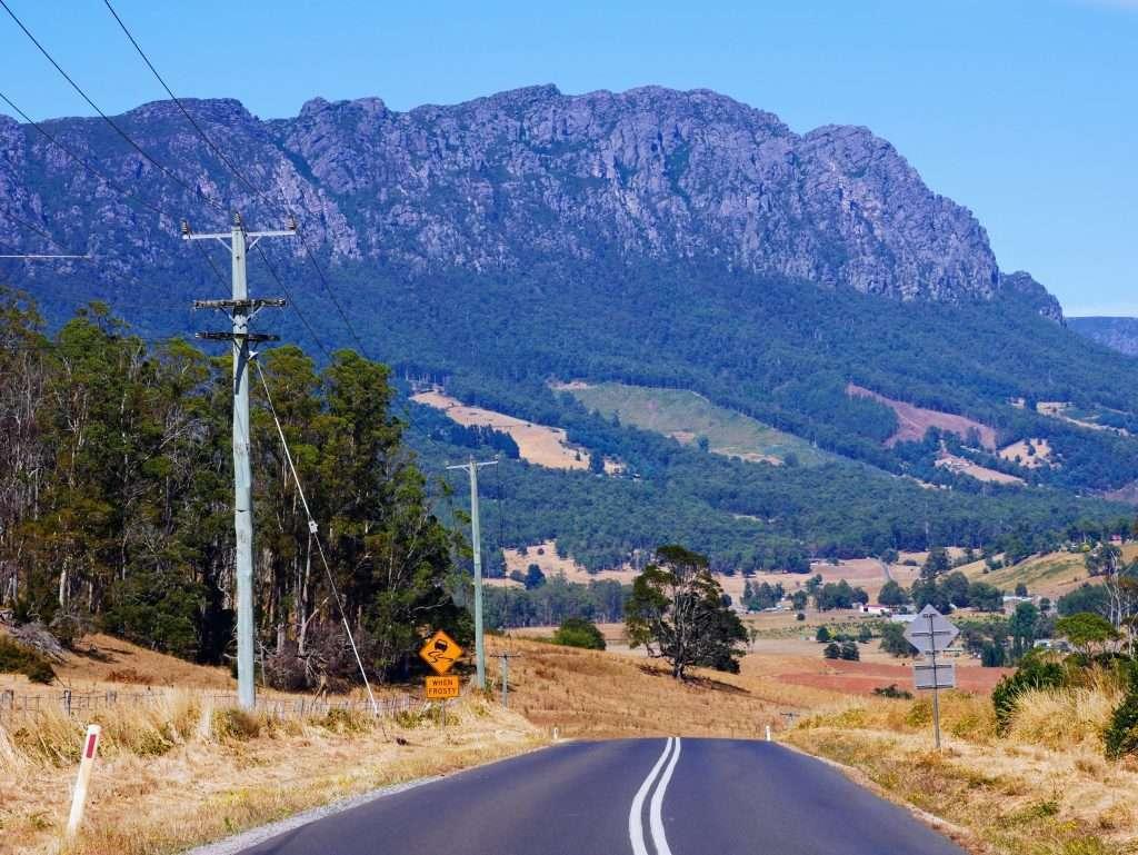Mt Roland & Mt Vandyke, Tasmania