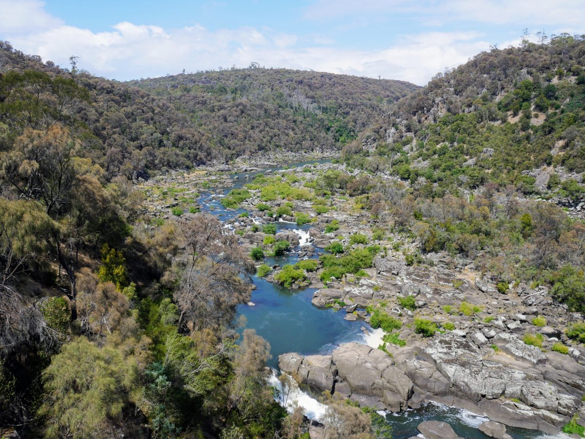 Cataract Gorge Circuit, Launceston Tasmania