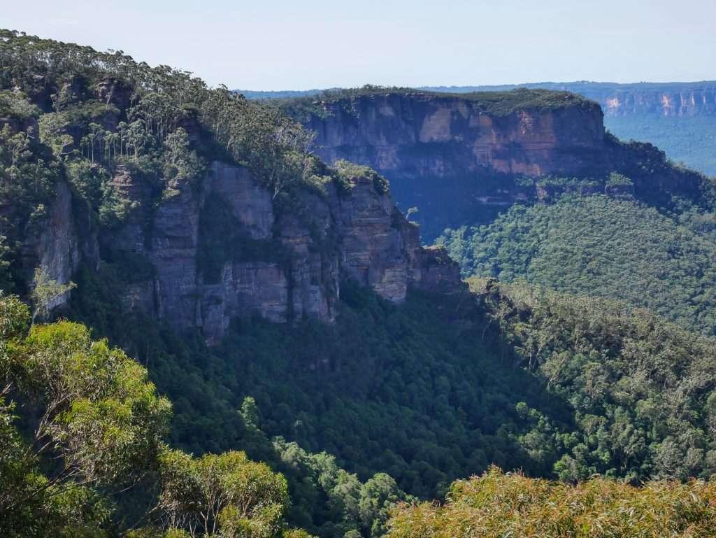 Castle Head and Narrow Neck Plateau, Blue Mountains