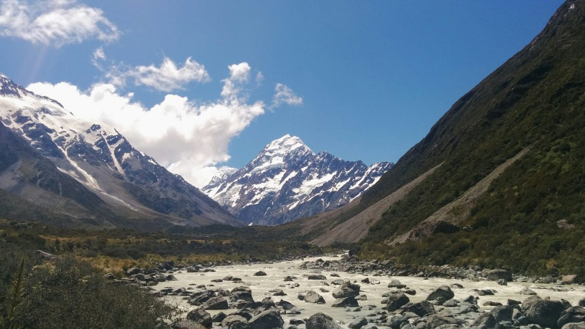 Hooker Valley Track, Aoraki/Mt Cook National Park NZ