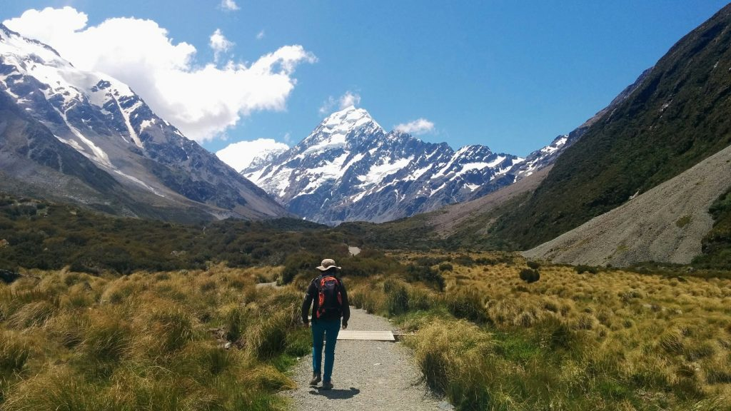 Hooker Valley Walk, Aoraki/Mt Cook National Park