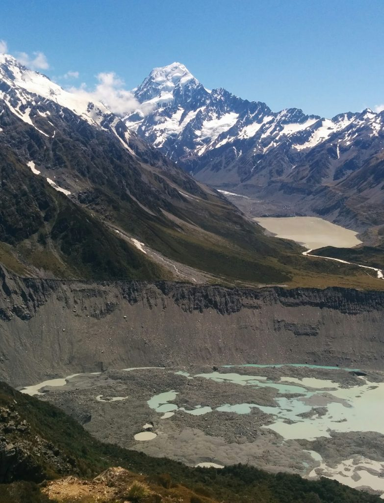 Sealy Tarns & beyond to ~1740m, Aoraki/Mt Cook National Park