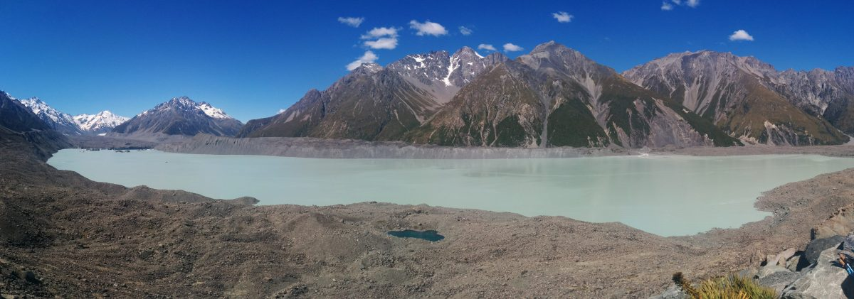 Tasman Glacier Lake Walk, Aoraki/Mt Cook National Park NZ