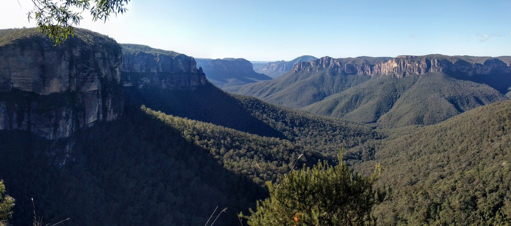 Rodriguez Pass Circuit, Blue Mountains NSW