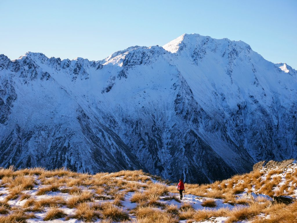 Mt Alaska ascent (winter), near Glenorchy NZ