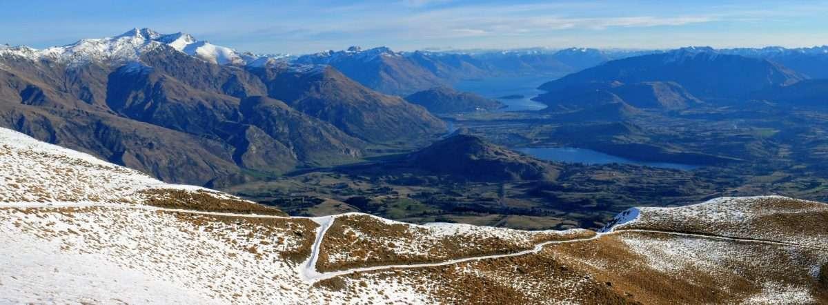 Crown Peak ascent, near Arrowtown NZ