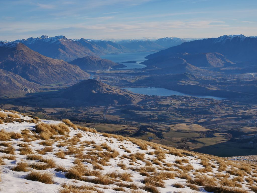 Crown Peak ascent, Otago NZ