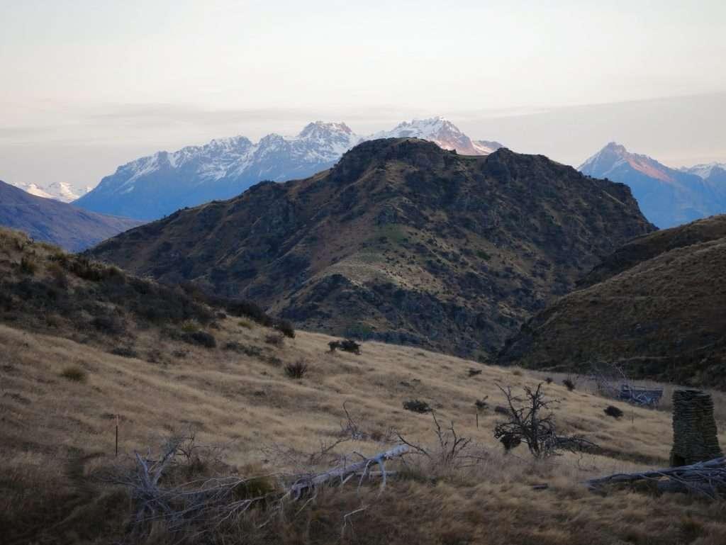 Crown Peak ascent, Otago NZ
