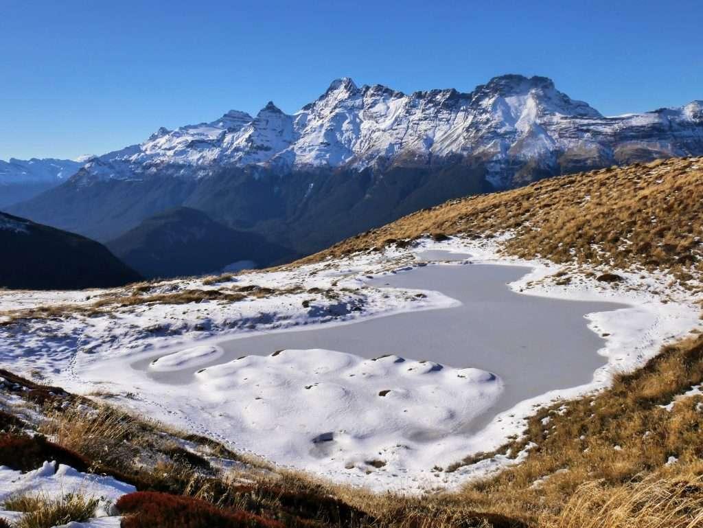 Sugarloaf Pass to pt. 1290m, Mt Aspiring National Park NZ