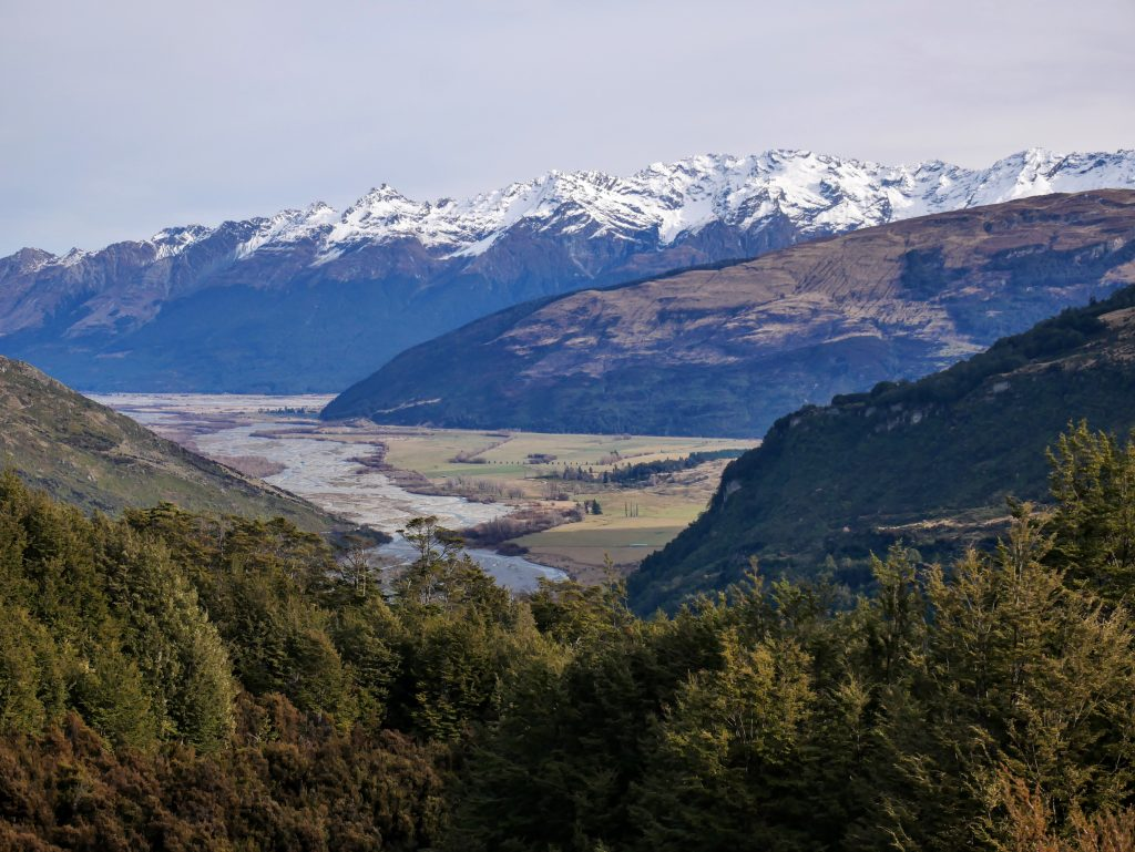 Invincible Mine Track, near Glenorchy NZ