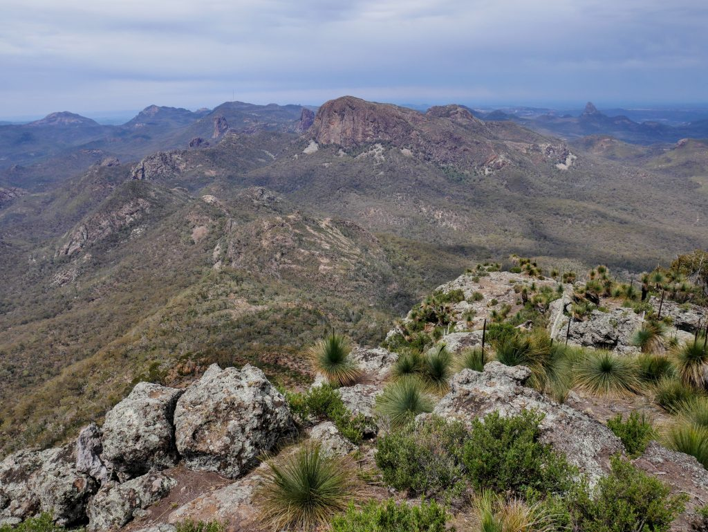 Mt Exmouth via Burbie Canyon, Warrumbungles NSW
