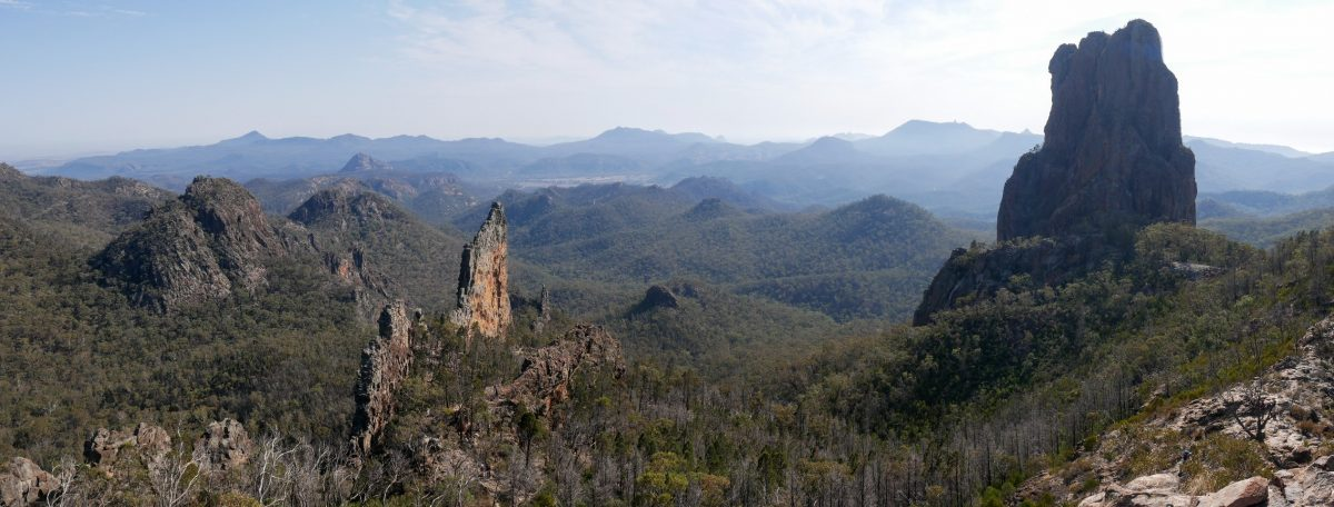 Bluff Mountain & Grand High Tops, Warrumbungle National Park NSW