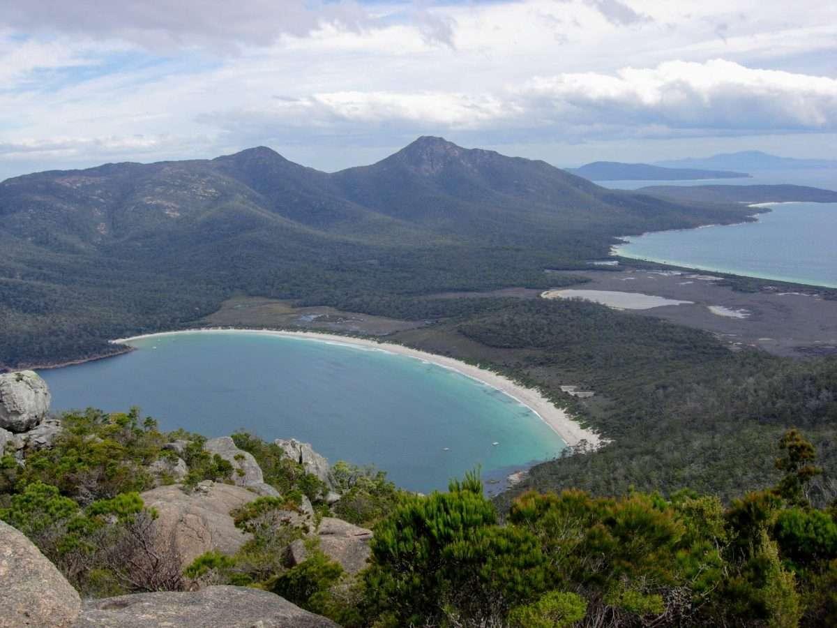Mt Amos & Wineglass Bay, Freycinet, Tasmania