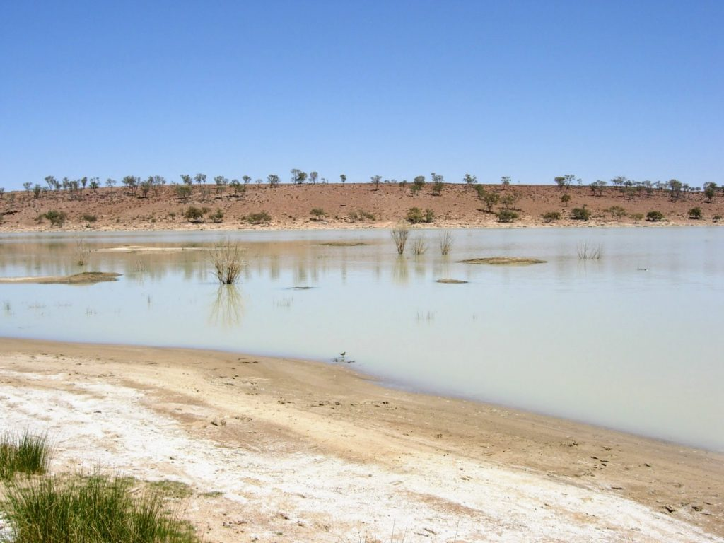 Ephemeral lake walk, Broken Hill area