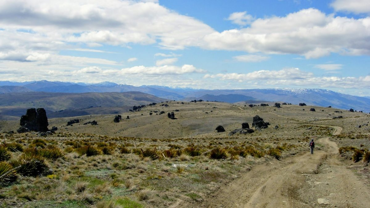Duffers Saddle to the Old Woman Range, Central Otago NZ