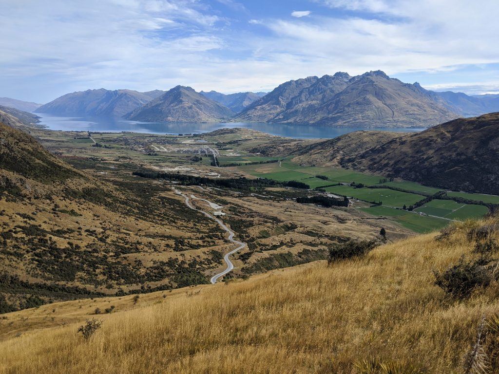 Queens Drive-Wye Creek Circuit (autumn), Remarkables Range