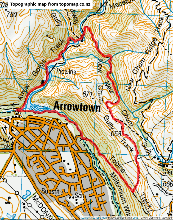 New Chums Gully Circuit, Arrowtown