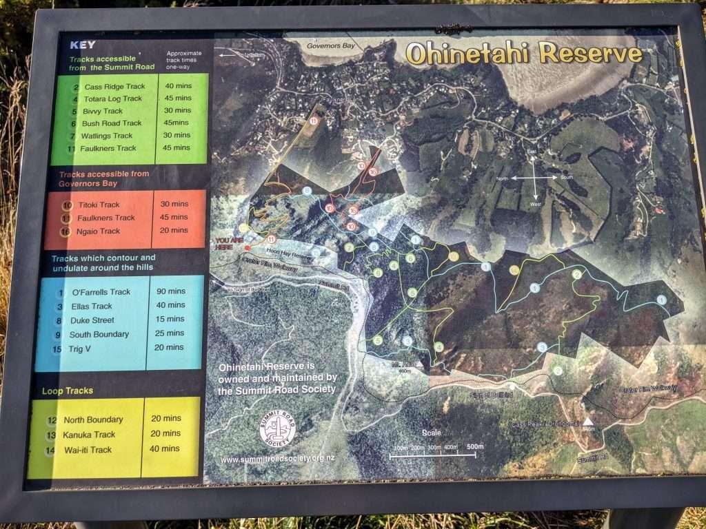 Ohinetahi Reserve Circuit, Governors Bay