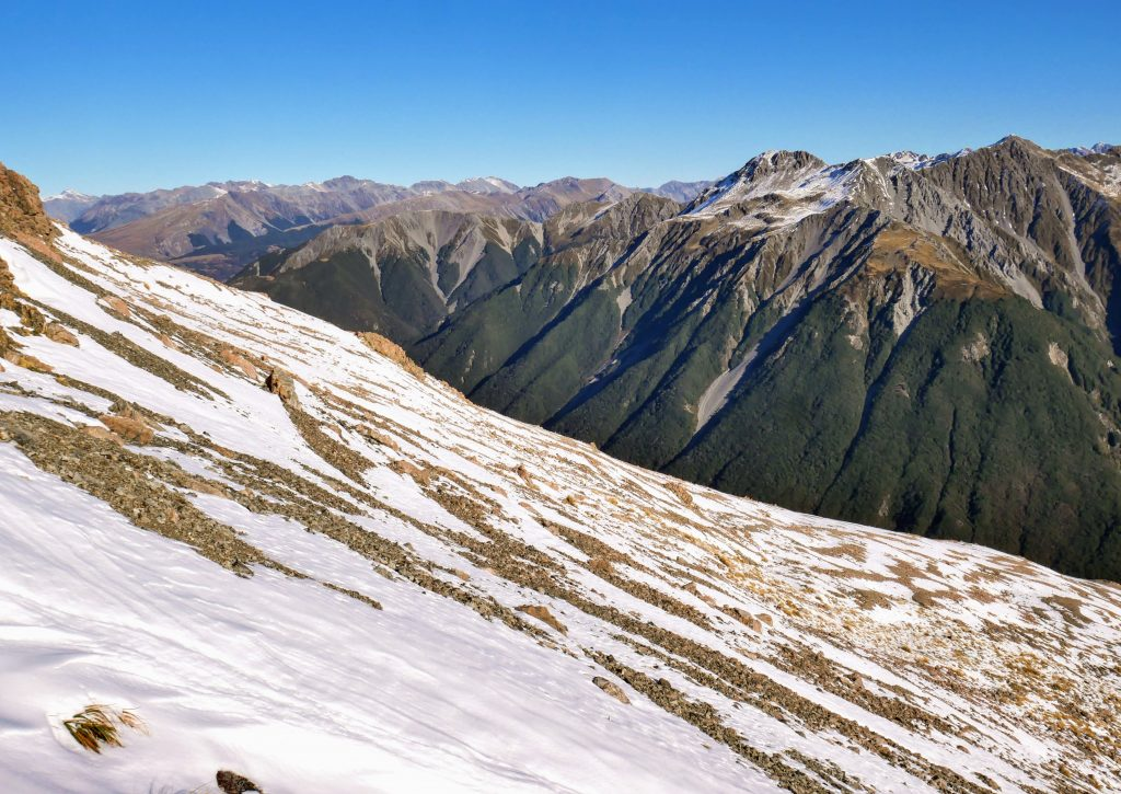 Mt Aicken ascent, Arthur's Pass National Park
