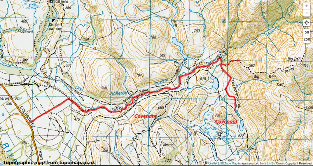 Dry Acheron Track, Korowai/Torlesse Tussocklands Park
