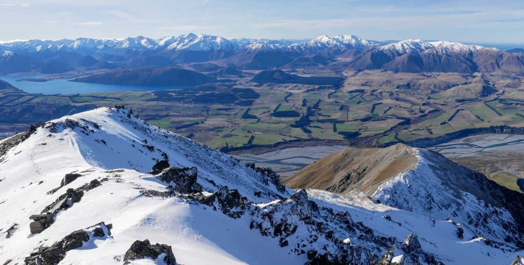 Steepface Hill ascent, Hakatere Conservation Park, Canterbury NZ