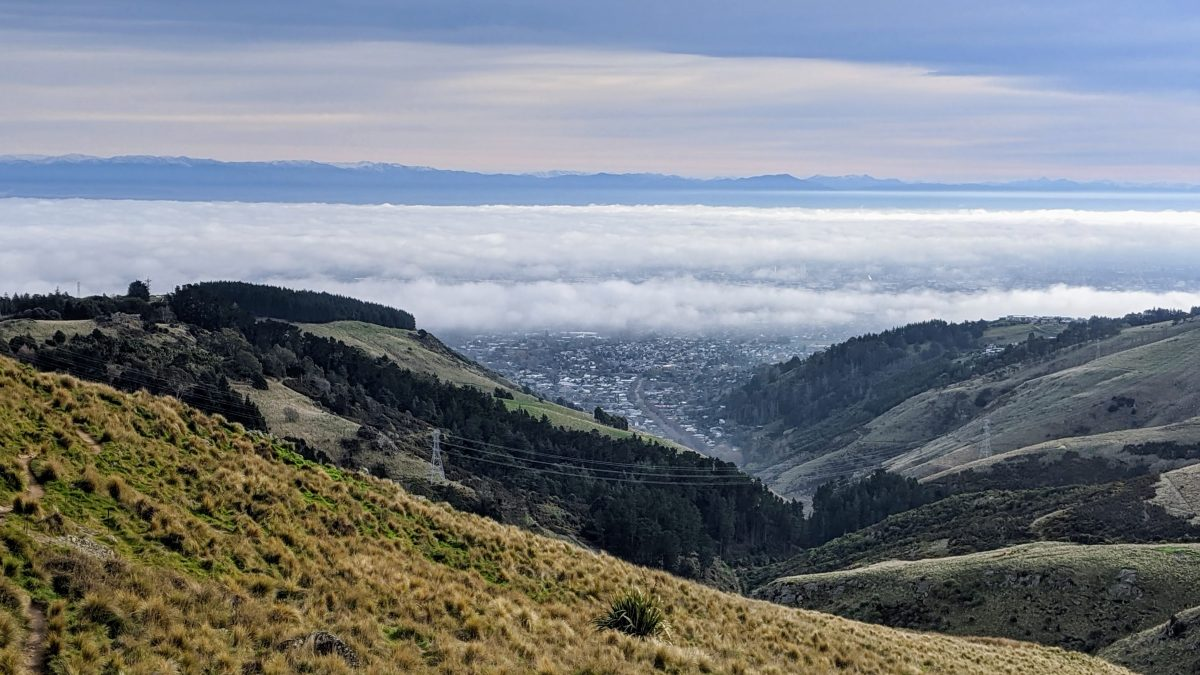 Harry Ells Track & Sugarloaf Circuit, Port Hills, Canterbury NZ