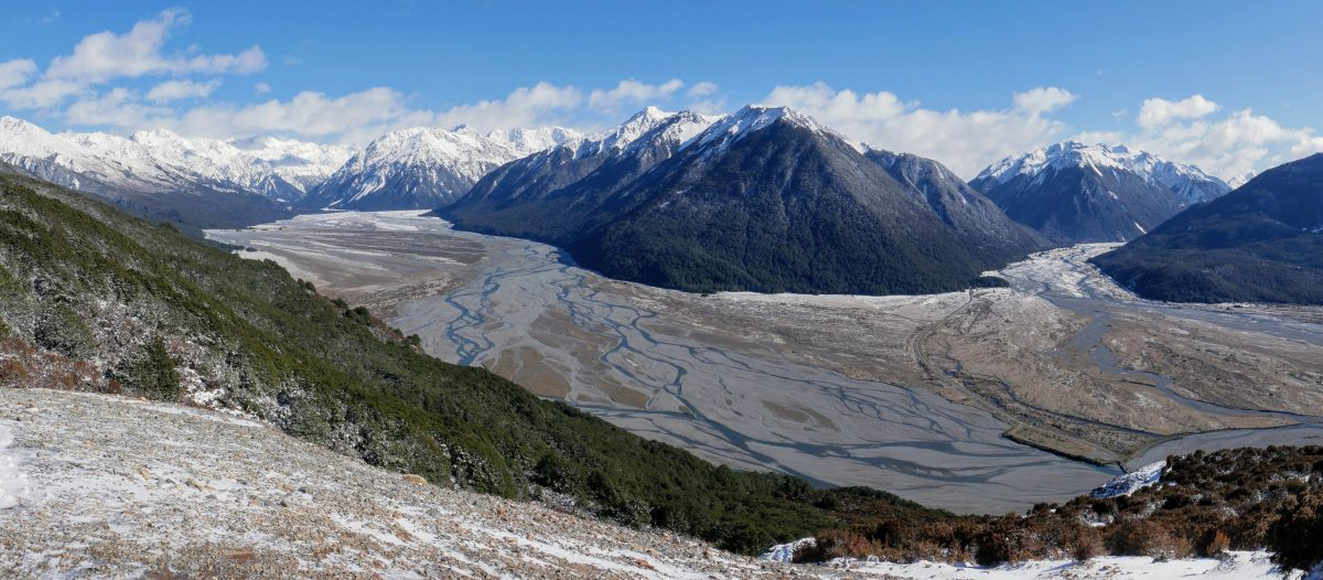 Bealey Spur to point 1545m, Arthur's Pass National Park NZ